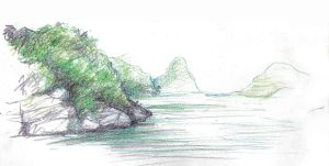 Thailand Drawing 2014 13 Koh Samui by JakobHansson