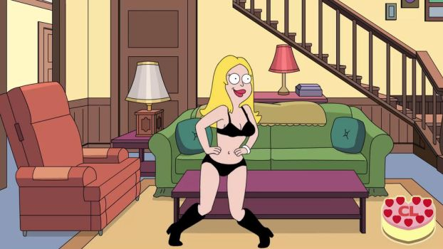 Close Enough - Francine in Black by Chesty-Larue-Art