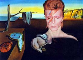 Persistance of Bowie by mysamsara