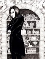 Snape's Pantry by DeadStars