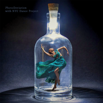 Ballerina and the Message in the Bottle by PhotoDeviation