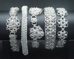 Various Sterling Bracelets by andrewk1969