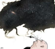 Space and Smoke by AP-Berg