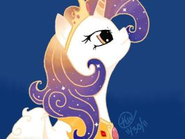 Queen Galaxia colored by Noodlefreak88