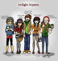 Twilight: Hipsters by OdieFarber