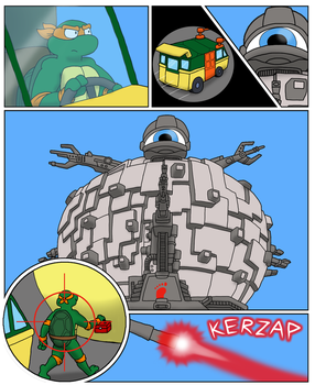 Michelangelo Sumo beam Page 2 by RickyDemont