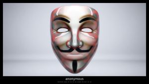 anonymous mask HD resolution by shamantrixx