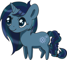 Commish: Frost - Chibi by Squeemishness