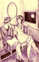 Flappers by adlibber