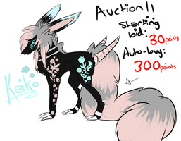 Action adopt - Keiko - CLOSED by colourfulgrey-adopts