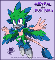 .Mistral the First Bird. by faster-by-choice