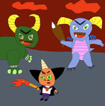 Ripto Crush and Gulp by SuperSmashCynderLum