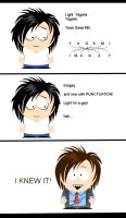 L Investigates Grammar by whysoseriouss