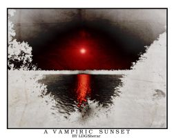 A Vampiric Sunset by LDGSherar
