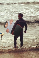 Tyler Posey's fourth punishment: Surfing! by jaredofmo