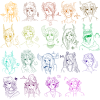 Lots and Lots of Fantrolls (+2) by ChronicFolly