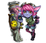 League of Legends - Riot Girl Tristana (WIP) by sosQsos