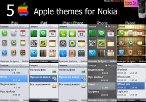 5 Apple themes by bodik87