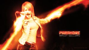 Paramore Wallpaper 01 by Sinfrid
