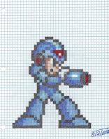 Mega Man X SNES gps by dragontamer272