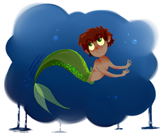 more merman thingies by Aveku-chan-Kataang