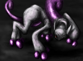 Mewtwo New Form by pokePiterr