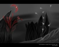 Synteresis Landscape Concept Art by Riarious