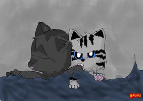 Graystripe and Silverstream by Dawnfire2025