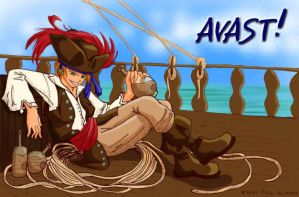 Avast and Stuff, Colored by disgruntledpeony
