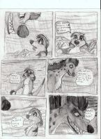 Timon trapped by a Hyena by Genbe89