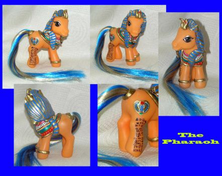 The Pharaoh custom pony by PrincessAmalthea