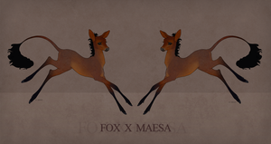 Fox X Maesa Fawn by ZeldaWolf7