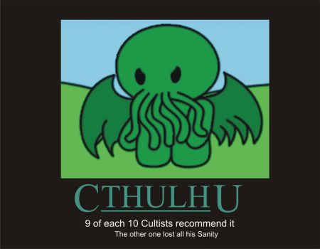 Cthulhu Poster 1 by Agersomnia