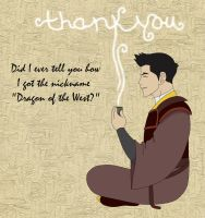 Mako Thank you and Iroh Tribute by redjanuary