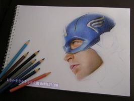 Captain America wORk IN pROGREss twO by A-D-I--N-U-G-R-O-H-O
