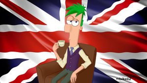 Ferb is a British gentleman by isika12