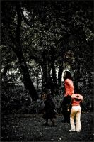 Walk in the park by infinitephoto101