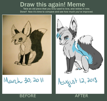 Meme  Before And After by silverfennec