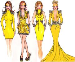 Golden Glam collection by CharismaCox