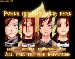 The Red Saiyaness by agra19
