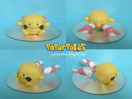Pokemon Papercraft - Chingling by PaperBuff