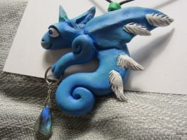 Tiny Totems- Sylph Dragon by Ravensfool