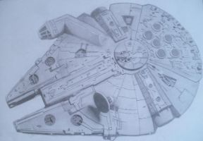 Millennium Falcon by Slayerlane