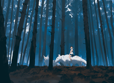 Princess Mononoke by snatti89