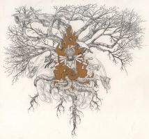 The Tree of Self Knowlege by urielstempest