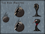Squiby - The Bird Monster by Chimajra