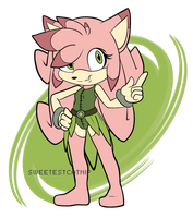 Fleur the Porcupine[Closed] by SweetestCatnip