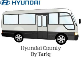 Hyundai County by tariqelamine