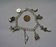 Redesigned Teen Wolf Charm Bracelet by thnksfrthwilliam