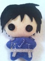 Roy Mustang plushie - Fullmetal Alchemist by mcmuter
